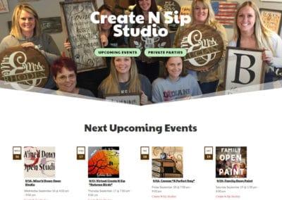 Create N Sip Studio