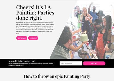 Paint & Sip Studio LA