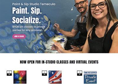 Paint & Sip Studio Temecula