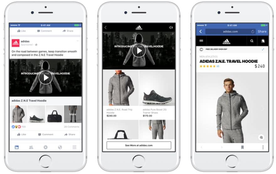 Post less and sell more via Facebook – Introducing Collection Ads